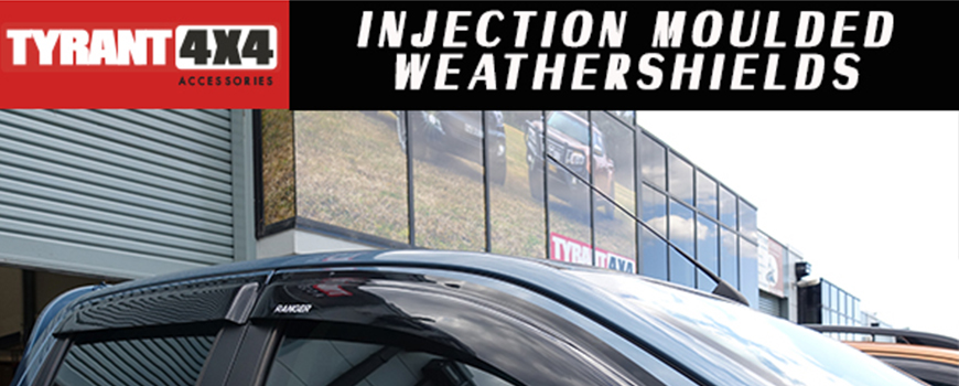 Injection Moulded Weathershields