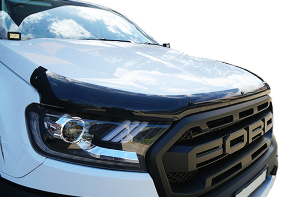 Bonnet Protector & Weathershields Pack to suit Ford Ranger Raptor