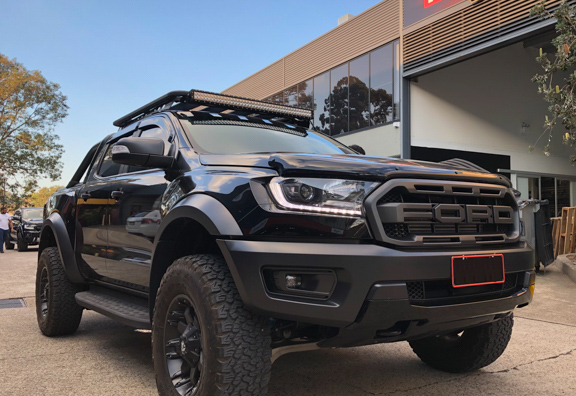 Rhino Backbone Pioneer Tray to suit Ford Ranger Raptor XLS XLT