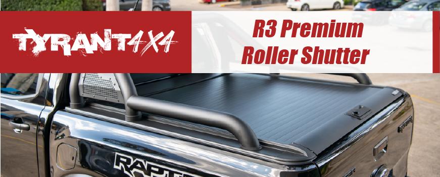 Ford Ranger Raptor Roller Shutter & Options