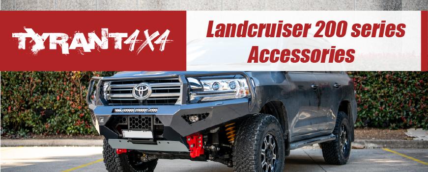 Toyota Landcruiser 200 series Accessories